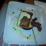 Pavé de truite saumonée sauce aux algues