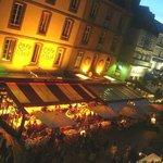 Le Cafe de LOuest: Saint-Malo: Francia: ripreso dai bastioni