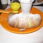 The superb pistacchio croissants
