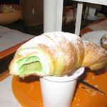 ...the strabuona crema al pistacchio
