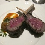 Colorado Lamb Rack cooked chef's choice