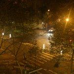 vista desde la habitación de noche