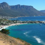 View onto camps bay