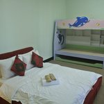 Monkey Nest - Room with 1 double bed & 3 layers bed