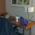 Desk in sleeper spfa area