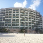 the new building we stayed in. beachfront.