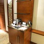 view of Nespresso machine in room