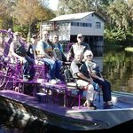 Us on airboat