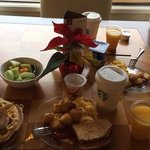 Club level continental breakfast