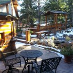 Vista all'esterno della Golden Aspen Suite