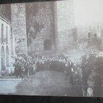 foto antiga do Castelo dos Pereiras