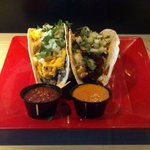 breakfast tacos Sat-Sun at 9am