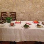 Buffet dînatoire pour 24 personnes...