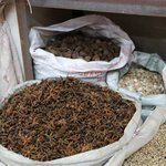Anise - Spice trade at the bustling market