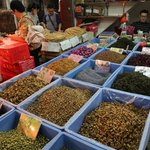 Flowers - Spice trade at the bustling market