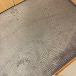 Dirty/stained carpet - the photo doesn't do it justice!