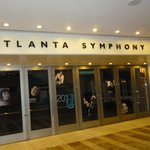 Atlanta Symphony Hall at the Woodruffs Arts Center, Atlanta, GA.