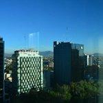 Vista desde la habitación, sobre Reforma, piso 14