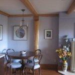 Silken breakfast table