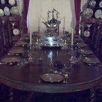 The dining room..stunning.