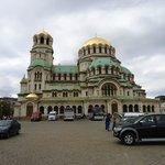 lexandre Nevsky em Sófia, Bulgária.