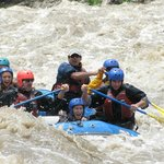 White Water Rafting down Sacred River
