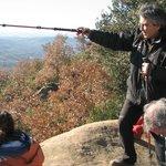 Jaume durante la excursión