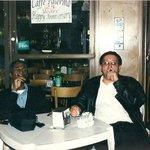 Enjoying some coffee and a nice cigar w/ a pal