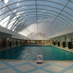 Indoor pool,lovely and warm