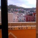 terraza de habitación