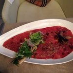 Enten-Carpaccio