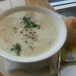 This chowder is so good