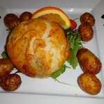 Mushroom, Cranberry & Brie Wellington