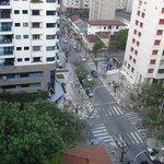 Vista da Rua Mário Ribeiro.