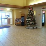Christmas season in the lobby