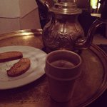 After enjoying our tea!