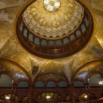 The dome in the lobby