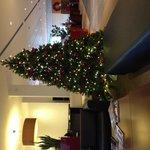 Lobby kerstsfeer