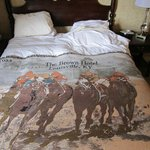 Bedding at The Brown Hotel