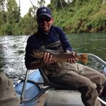 Beautiful brown on the Rio Rahua in Chile