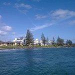 Broader view of Bargara beachfront residences