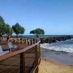 Beachfront park at Bargara