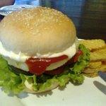 That burger... om nom nom nom nom