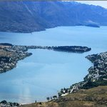 Perspective - Queenstown and Lake Wakatipu