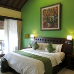 My room at Lumbung Sari