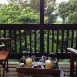 brekfast on the deck!