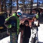 Max with Woodward ski school