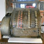 Cash register (not the one they use)