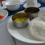 南インドな朝食はおいしい。