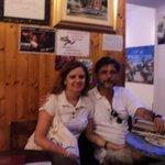 Um casal de brasileiros na casa de uma brasileira em plena Cinque Terre.